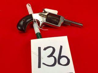 True Blue 32 Rim Fire Revolver  Handgun