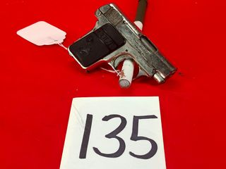 Colt Auto 1908  25 Cal  Nickel  SN 240221  Handgun