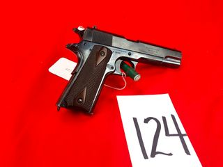 Colt Gov t Model 1911  45 Auto  SN 36290  Handgun
