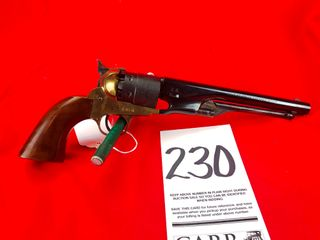 Italian Black Powder  44 Cal  Revolver  SN 37513  Exempt