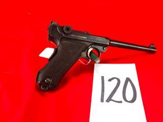 luger Navy 6  Bbl  9mm  SN 2720  8419 on Bbl   Handgun