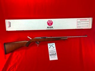Ruger 10 22  22lR Stainless Steel  SN 257 07150 w Box