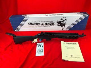 Springfield Armory M1A   308 7 62x51  SOCOM II Black Stock  Ext  Rail  SN 302435  NIB