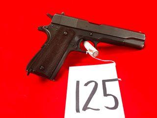 Remington Rand 1911 A1 US Army  45 Cal  SN 2380798  Handgun