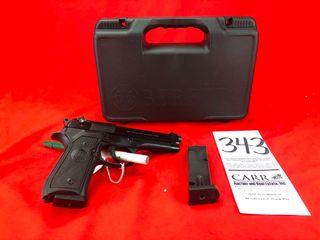 Beretta 92FS 9mm   2  15 Rd  Magazines  SN BER784613  Handgun