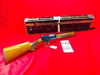 Browning Belgium A 5  20 Ga  1969 light 20  27  Bbl  Choke Tubes  SN 69246029 w Box