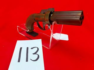 CMC 4 Round Pepperbox  36 Cal  Black Powder  SN 1311P  Exempt