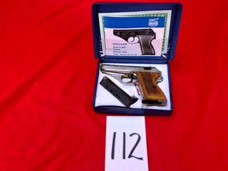 Mauser Werke M HSc  9mm Kurz  SN 01 18528  w Box   Extra Mag  Handgun