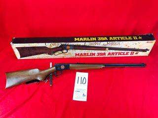Marlin 39 Article II  22 S l lR  SN 7186285 w Box