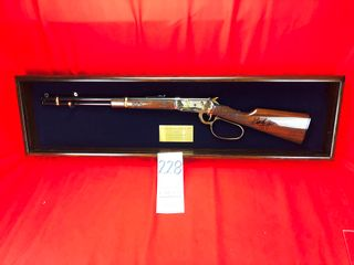 Winchester 94AE George Jones 50th Anniv  Tribute   30 30  SN 655481 w Showcase  1 of Only 100 Made