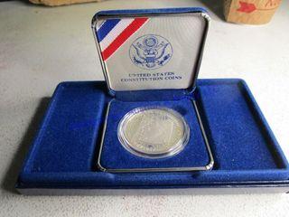1987 CONSTITUTION COIN