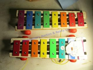 FISHER PRICE PUll TOYS