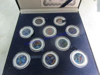 COlORIZED STATE QUARTERS SETS