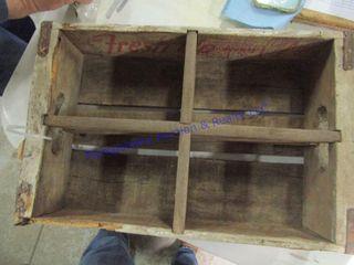 7 UP WOOD BOX