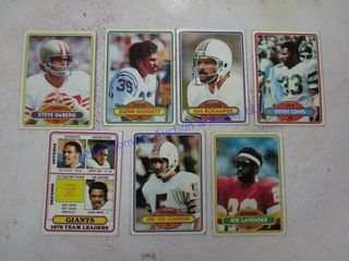 FOOTBAll SPORTS CARDS