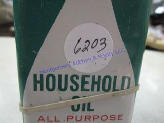 HOUSEHOlD OIl CANS