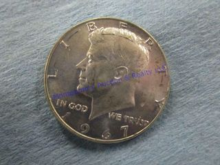 1967P JKF 1 2 DOllAR