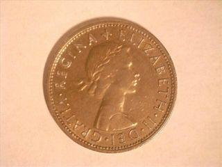 1960 Elizabeth II Half Crown