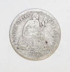1883 Seated liberty Dime