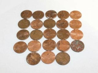 Copper Coins  13   UK Elizabeth II Copper Pennies