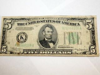 1934 Series Fed  Res  Note