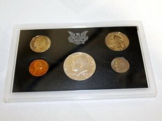 1968 United States Proof Set w case