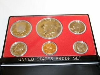 1973 United States Proof Set w case
