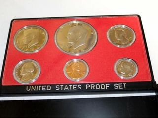 1974 United States Proof Set w case