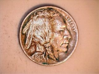 1   1913 Buffalo Nickel