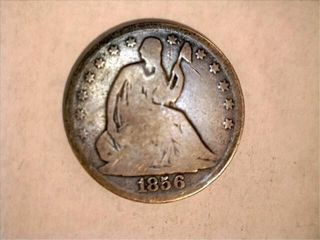 1856 O Seated liberty Half Dollar