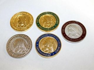 Set of 5 Oklahoma Centennial Coins