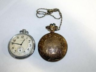 Elgin   Timex Pocket watches