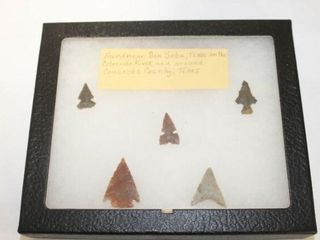 5   Arrowheads Found near San Saba  Texas