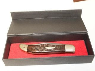 Case XX   USA Bone Handles Folding Hunter