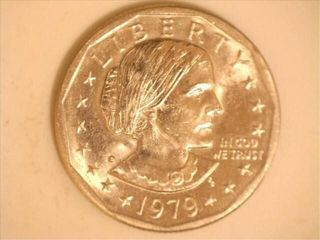 1979 D Susan B Anthony Dollar