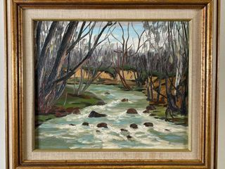 FRASER THOMSON  HOGGS HOllOW  DON RIVER  PAINTING