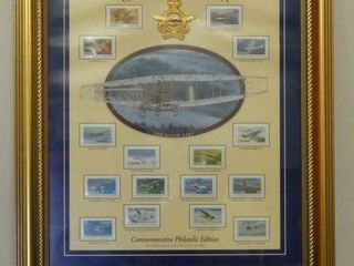 MIlESTONES OF CANADIAN AVIATION  STAMP COllECTION