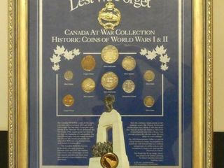 lEST WE FORGET  HISTORIC COINS OF WWI   WWII