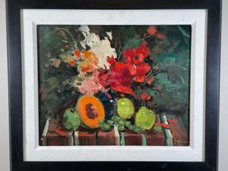 GEZA GORDON MARICH STIll lIFE PAINTING