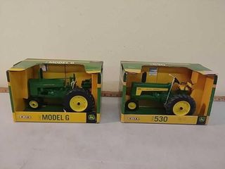 686 Nelson Lifetime Toy Tractor Collection from Union Grove
