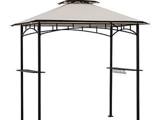 Sunjoy 5 ft  x 8 ft  Grill Gazebo with Canopy   MSRP  179 99