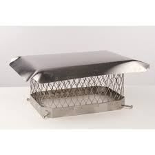 MasterFlow 9 in  x 9 in  Stainless Steel Fixed Chimney Cap   MSRP  48 99
