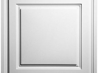 Ceilume Stratford White Feather light 2 ft  x 2 ft  lay in Ceiling Panel  Case of 10    MSRP  59 59