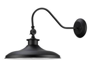 Globe Electric Aedan 1 light Black Swivel Wall Sconce light   MSRP  31 76