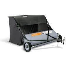 AllFitHD 50 in  26 cu  ft  lawn Sweeper   MSRP  329 00