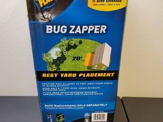 2000 Volt 1 2 acre Bug Zapper Insect Killer  Includes Black Flag Mosquito Octenol lure   MSRP  24 99