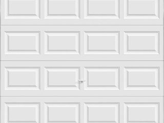 Clopay Classic Collection 8 ft  x 7 ft  6 5 R Value Insulated White Garage Door   MSRP  437 00