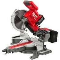 MIlWAUKEE M18 FUEl 18 Volt lithium Ion Brushless Cordless 10 in  Dual Bevel Sliding Compound Miter Saw    Tool Only No Charger    MSRP  499 00