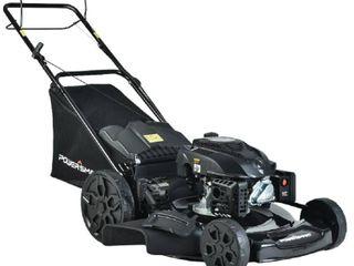 PowerSmart 22 in  3 in 1 200cc Gas Walk Behind Self Propelled lawn Mower   MSRP  329 00