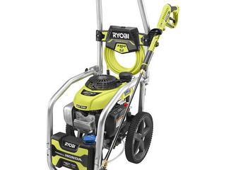 RYOBI 3300 PSI 2 3 GPM Honda GCV190 Gas Pressure Washer with Idle Down   MSRP  504 90